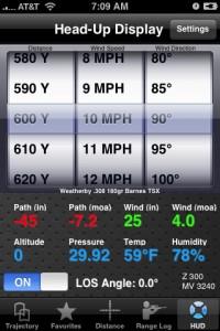 JBM Ballist Iphone app Field Tactical Edition