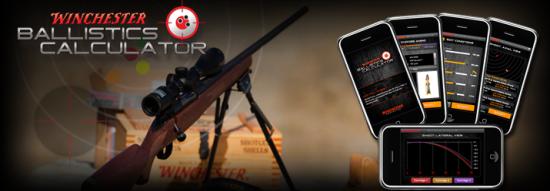 Post image of Winchester iPhone Ballistics Calcualtor Free!