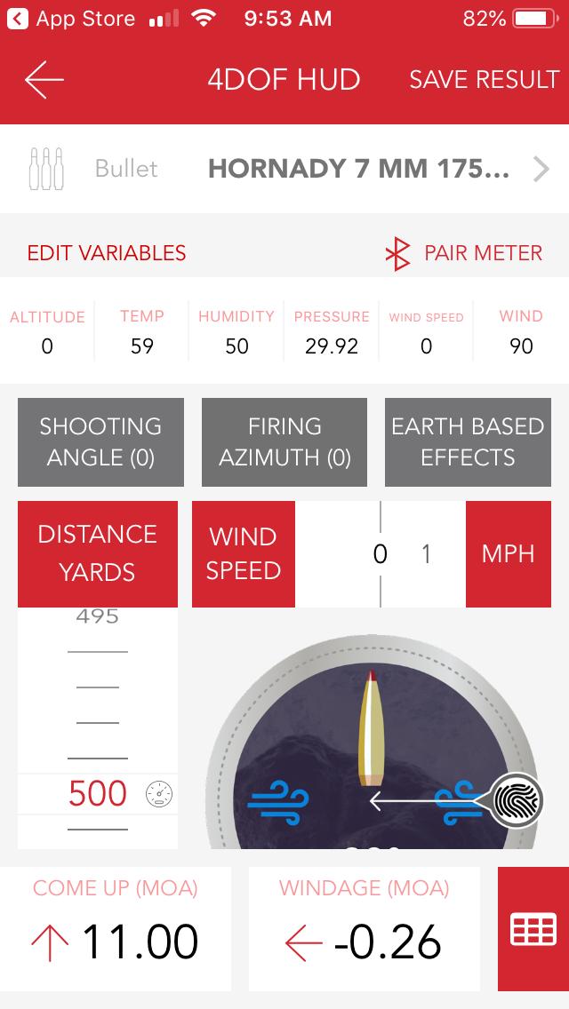 Hornady Ballistics App  | i-ballistics com